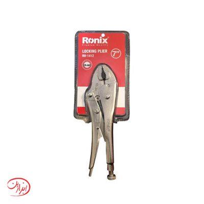 انبر قفلی CR-MO رونیکس مدل RH-1412 سایز 7 اینچ