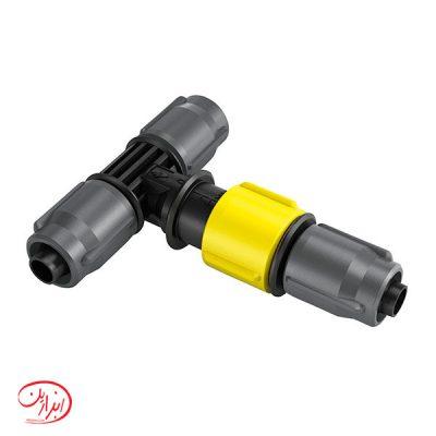 کانکتور T شکل با قابلیت تنظیم جریان آب کارچر (کرشر)