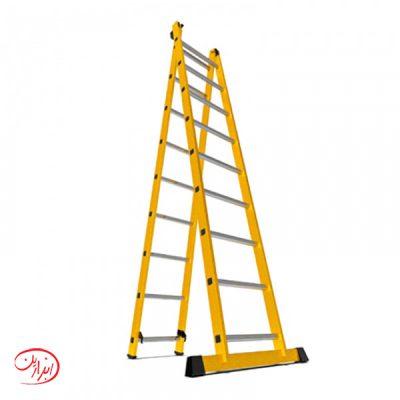 نردبان کشویی آلوم پارس پله مدل الگانت