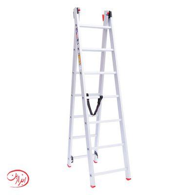 نردبان کشویی آلوم پارس پله مدل اکسلنت